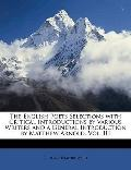 English Poets Selections with Critical Introductions by Various Writers and a General Introd...