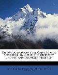 Die Natugeschichte des Cajus Plinius Secundus : Ins Deutsche übersetzt und mit Anmerkungen V...