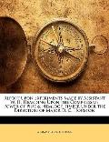 Report upon Experiments Made by Assistant W H Hearding upon the Compressive Power of Pine an...