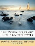 Dorrance Family in the United States;