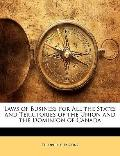 Laws of Business for All the States and Territories of the Union and the Dominion of Canad