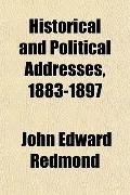 Historical and Political Addresses, 1883-1897