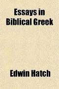 Essays in Biblical Greek