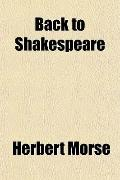 Back to Shakespeare