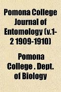 Pomona College Journal of Entomology (v.1-2 1909-1910)