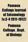 Pomona College Journal of Entomology (v.3-4 1911-1912)