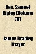 Rev Samuel Ripley