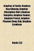 Amphoe of Surin : Amphoe Kap Choeng, Amphoe Chumphon Buri, Amphoe Sangkha, Amphoe Sanom, Amp...