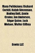 Manx Politicians : Richard Corkill, Ralph Stevenson, Dudley Butt, Annie Craine, Ian Anderson...