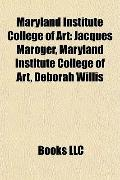 Maryland Institute College of Art : Jacques Maroger, Maryland Institute College of Art, Debo...