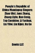 People's Republic of China Mandopop Singers : Zhao Wei, Jane Zhang, Zhang Liyin, Han Geng, T...