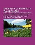 University of New South Wales Alumni : Mark Taylor, George Miller, Peter Garrett, Duncan J. ...