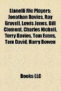 Llanelli Rfc Players : Jonathan Davies, Ray Gravell, Lewis Jones, Bill Clement, Charles Nich...