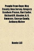 People from Cape May County, New Jersey : Gregory Goodwin Pincus, Kurt Loder, Richard M. Atw...