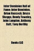 Inter Dominion Hall of Fame : Inter Dominion, Brian Hancock, Bruce Skeggs, Doody Townley, Jo...