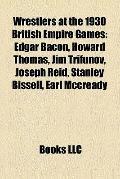 Wrestlers at the 1930 British Empire Games : Edgar Bacon, Howard Thomas, Jim Trifunov, Josep...