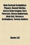 New Zealand Badminton Players : Daniel Shirley, Larisa Sadarangani, Sara Petersen, Rhona Rob...