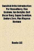 Swedish Artist Introduction : Per Hasselberg, Elsa Beskow, Jan Berglin, Carl Oscar Borg, Eug...