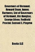 Governors of Vermont : Howard Dean, James Hartness, List of Governors of Vermont, Jim Dougla...