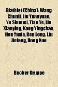 Biathlet : Wang Chunli, Liu Yuanyuan, Yu Shumei, Tian Ye, Liu Xianying, Kong Yingchao, Hou Y...