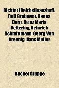 Richter : Rolf Grabower, Hanns Dorn, Heinz Maria Oeftering, Heinrich Schmittmann, Georg Von ...