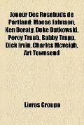 Joueur des Rosebuds de Portland : Moose Johnson, Ken Doraty, Duke Dutkowski, Percy Traub, Bo...