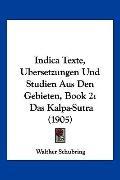 Indica Texte, Ubersetzungen und Studien Aus Den Gebieten, Book : Das Kalpa-Sutra (1905)