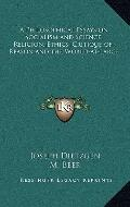 Philosophical Essays on Socialism and Science, Religion, Ethics; Critique-of-Reason and the ...