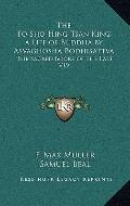 Fo Sho Hing Tsan King a Life of Buddha by Asvaghosha Bodhisattv : The Sacred Books of the Ea...