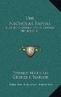 Nicholas Papers : Correspondence of Sir Edward Nicholas V1