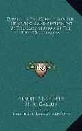 Debates in the Convention for the Revision and Amendment of the Constitution of the State of...