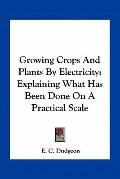 Growing Crops and Plants by Electricity : Explaining What Has Been Done on A Practical Scale