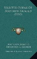 Selected Poems of Matthew Arnold