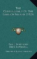 Contingency of the Laws of Nature