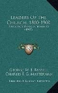 Leaders of the Church, 1800-1900 : Frederick Denison Maurice (1907)