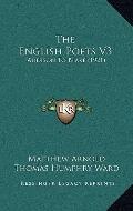 The English Poets V3: Addison To Blake (1921)