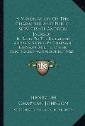 Vindication of the Character and Public Services of Andrew Jackson : In Reply to the Richmon...