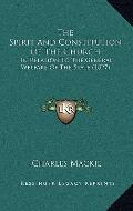 Spirit and Constitution of the Church : In Relation to the General Welfare of the State (1827)
