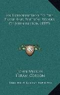 Introduction to the Prose and Poetical Works of John Milton