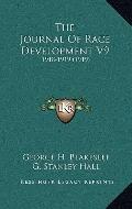 Journal of Race Development V9 : 1918-1919 (1919)