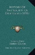 History of the Society of Dilettanti