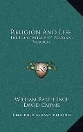 Religion and Life : The Foundations of Personal Religion