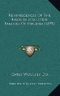 Reminiscences of the Knox and Soutter Families of Virginia