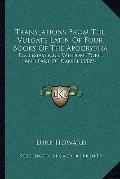 Translations from the Vulgate Latin of Four Books of the Apocryph : Ecclesiasticus, Wisdom, ...