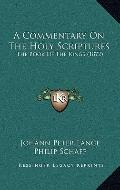 Commentary on the Holy Scriptures : The Book of the Kings (1872)