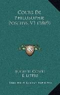 Cours de Philosophie Positive V1