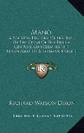 Mano : A Poetical History, of the Time of the Close of the Tenth Century, Concerning the Adv...