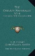Oregon Naturalist V1-4 : September, 1894 to January 1898