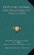 Kritisches Journal der Philosophie V2, Part
