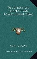 De Schoonste Liederen Van Robert Burns
